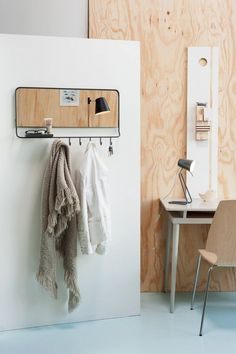 From Dutch designers Leitmotiv, the Coat Rack Mirror is made of powder-coated steel and is £76.25 from Amazon UK.