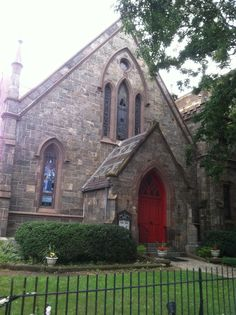Grace Church in White Plains NY Church Street/corner of Main Street - been there forever.
