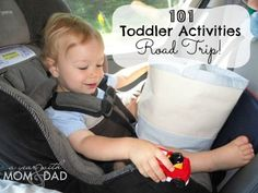 101 Toddler Activities ~ Road Trip! » A Year with Mom  Dad