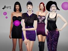 Sims 4 CC's - The Best: Dresses by MissFortune