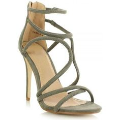 Partner product  Sole Affair Tara Suede Strappy Stiletto..