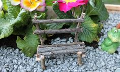 Fairy Garden bench - Make Your Own - How To Video
