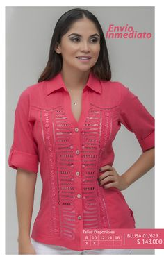 Ref 01/629 Pink Love, Pattern Fashion, Clothing Patterns, Blouse Designs, Most Beautiful, Victoria, My Style, Casual, Pandora