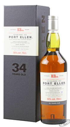 Port Ellen 34 YO Single Malt Whisky