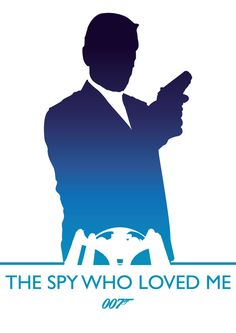 James Bond by Phil Beverley, via Behance