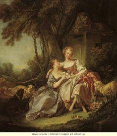 François Boucher. The Love Letter.