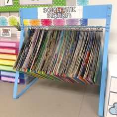 🍎 Do you love News Magazines but don't know exactly what to do with them? Turn them into a station! I laminated mine,… Learning Stations, Blended Learning, News Magazines, Card Reading, Love, Instagram, Amor