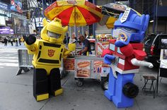Adventures Of Kre-O Optimus Prime And Bumblebee - NYCC, Here We Come! - Transformers News - TFW2005