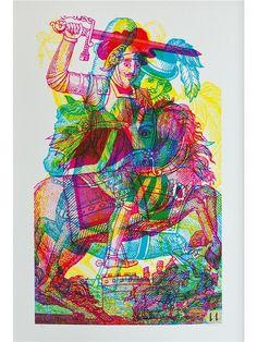 Jaguarshoes Collective - Carnovsky 'Horseman No.3' artwork