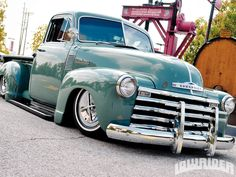 1952 Chevy Truck Polished Bumper Photo 20