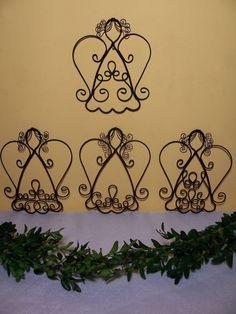 Potěšení z drátků. a nejenom z nich Clothes Pin Ornaments, Wire Ornaments, Beaded Christmas Ornaments, Burlap Christmas, Handmade Ornaments, Christmas Angels, Christmas Decorations, Christmas Templates, Christmas Projects