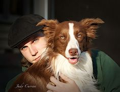 A boy and his dog by judecurran