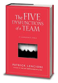 Image result for dysfunctional teams patrick lencioni