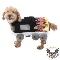 Bret Michaels - Tour Bus Costume for Dogs - NEW with Tags - Medium Size