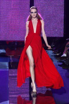 Versace Fashion Show During Milan Fashion Week 2009