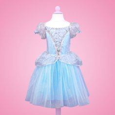 Blue Princess Dress $46