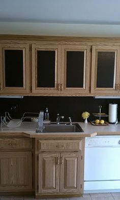 Black Faux Leather Contact Paper For Backsplash, And Cabinets (removable)