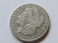 1893 Silver Morgan Dollar US Coin Featured in our upcoming auction on August 17, 2015 11:00AM EST!!