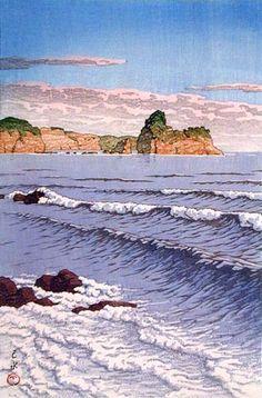 Kawase Hasui Morning Sea, 1933