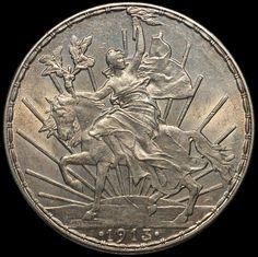 Moneda 1 Peso, Caballito 1913 Coins Worth Money, Coin Art, Gold Money, Antique Coins, World Coins, Rare Coins, Silver Bars, Money Matters, Coin Collecting