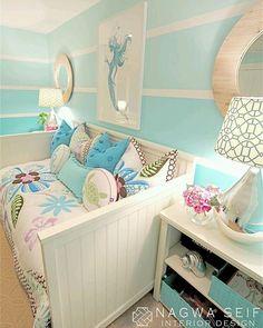 Para quem gosta de azul Referência Pinterest #arquitetura #decoração #design #decor #arch #interiores #inspiração #projetos #decorlovers #sketchup #bomdia #Deus #quarto #vray #projeto3D #sp #apartamento #Alphaville #brasil #love #beautiful