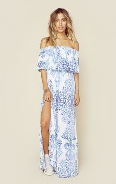 Show Me Your Mumu Clothing Boho Dresses Hacienda Maxi Dress