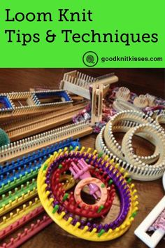 loom knitting projects * knitting on a loom ; knitting on a loom for beginners ; knitting on a loom projects ; knitting on a loom blankets ; knitting on a loom tutorials ; knitting on a loom patterns ; Loom Knitting For Beginners, Round Loom Knitting, Loom Knitting Stitches, Knifty Knitter, Loom Knitting Projects, Finger Knitting, Knitting Needles, Hand Knitting, Knitting Tutorials