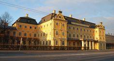 Palais Menchikov - 15 Quai de l'Université - Saint Petersbourg - Construit entre…