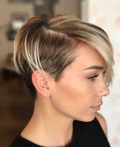 Undercut Short Pixie Hairstyles – Undercut Hairstyles 2018 - New Hair Styles 2018 Short Hair Cuts For Women, Short Hairstyles For Women, Short Hair Styles, Hairstyles 2018, Ladies Hairstyles, Black Hairstyles, Unique Hairstyles, Short Cuts, Fashion Hairstyles