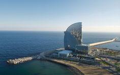 W Barcelona Hotel | Barcelona, Spain  Ricardo Bofill & Jean Pierre Carniaux