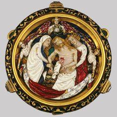 Dead Christ with the Virgin, Saint John, and Angels, #French (Paris)] (17.190.913) | Heilbrunn Timeline of Art History | The Metropolitan Museum of Art #object