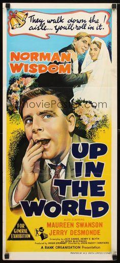 Up in the World (1956) Stars: Norman Wisdom, Maureen Swanson, Jerry Desmonde…