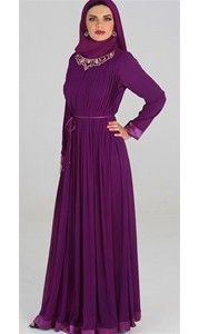 a beautiful formal abaya like this, and maybe a matching scarf