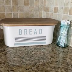 "663 Likes, 42 Comments - M A T  &  B R I T T A N I (@dossdecor) on Instagram: ""I love styling spaces, but everything I use in my home needs to have purpose. This bread box is my…"""