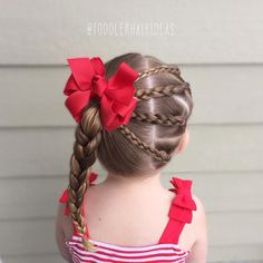 4 mini braids on the right pulled into a braided high left pony! Girls Hairdos, Baby Girl Hairstyles, Princess Hairstyles, Pretty Hairstyles, Braided Hairstyles, Teenage Hairstyles, Elsa Hair, Hair Due, Toddler Hair
