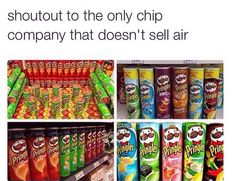 YASSSSSSSS| I personally don't have this problem in England but pringales are my favourite crisps