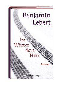 """Seit Benjamin Lebert als 17-Jähriger sein Debüt """"Crazy"""" veröffentlichte gilt er als literarisches Wunderkind. In seinem neuen Roman schickt er drei Menschen durch ein kaltes, einsames Land. """"Im Winter dein Herz"""" ist der poetische Titel einer Suche nach Liebe und Geborgenheit, die letztlich oberflächlich bleibt."""