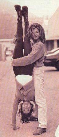 Courteney Cox & Jennifer Aniston