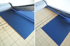 How to cut 8.5'' x 11'' card stock in to A7 invitations.