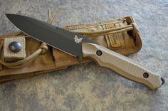 """Benchmade Nimravus 140BKSN 4.5"""" Blade 5.86oz"""