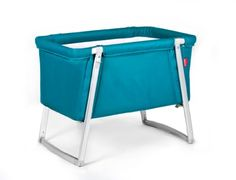 Baby Home Dream Portable Baby Crib - Turquoise