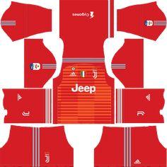 Juventus New Kits - Dream League Soccer 2019 Juventus Goalkeeper, Juventus Team, Goalkeeper Kits, Juventus Logo, Real Madrid Kit, Real Madrid Logo, Soccer Kits, Football Kits, Barcelona Third Kit