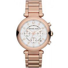 Orologio Donna Michael Kors Parker MK5806 Cronografo  orologi  michaelkors   fashion  moda Borsette 2c6bfa5aaf2