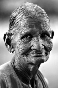 Sweet Elderly Lady by Sergio Pessolano, via Flickr