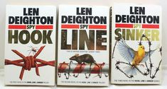 Len Deighton Great Trilogy Hook,Line And Sinker Espionage Series Paperback Lot O Two By Two, Novels, Lens, Store, Books, Ebay, Livros, Tent, Shop Local