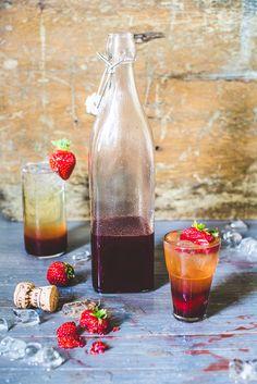 Three Shrubs: Blackberry, Watermelon & Strawberry