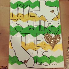 Easy to make, and so cute for my dorm room. Baylor!