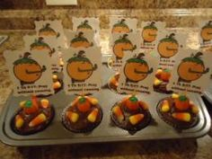 Pumpkin Sunday School lessons Pumpkin Cupcakes for Sunday school kids toppers template