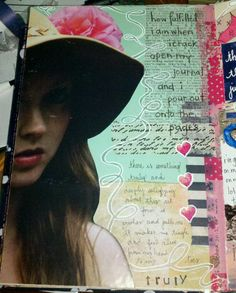 Kelly Kilmer Artist and Instructor: 14 October 2012 Journal Page