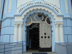 Blue Church doors ~ Bratislava Iglesia Azul Eslovaquia Slovakia 04 by Rafael Gomez-http://micamara.es/, via Flickr